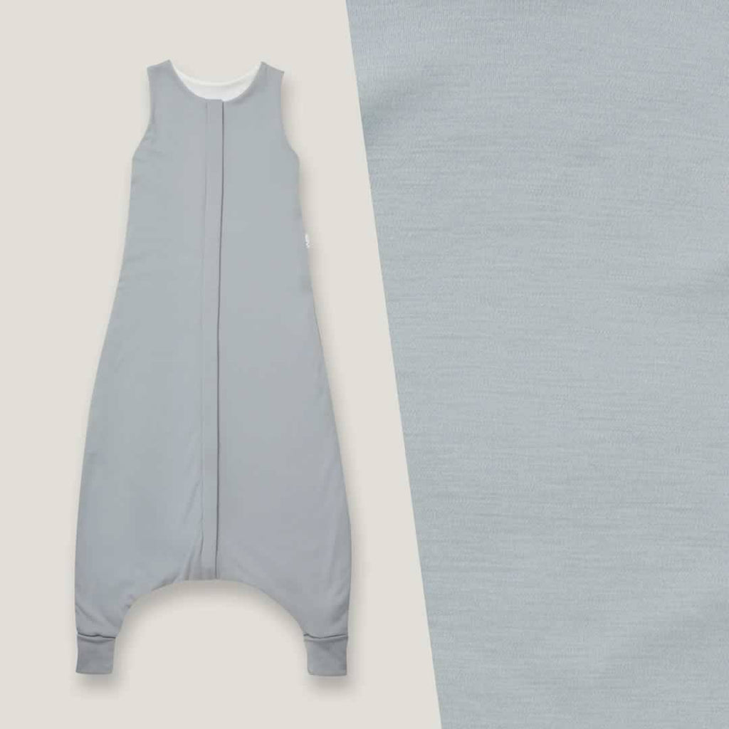 Superlove Organic Cotton & Merino Toddler Sleeping Bag Cloud Grey