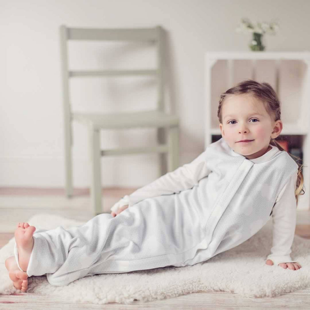 Superlove Organic Cotton & Merino Toddler Sleeping Bag - Silver Linings Lifestyle