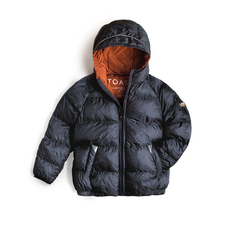 TÖASTIE Cloud Puffer Jacket - Ink Navy-Coats & Snowsuits- Natural Baby Shower