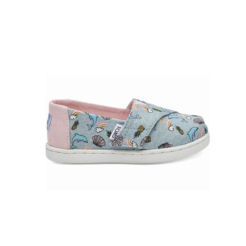 TOMS Classic Canvas Shoes - Multi-Shoes- Natural Baby Shower