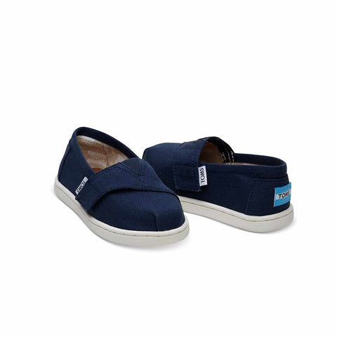 TOMS Classic Canvas Shoes - Navy-Shoes- Natural Baby Shower