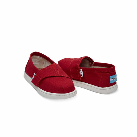 TOMS Alpargata Shoes - Red