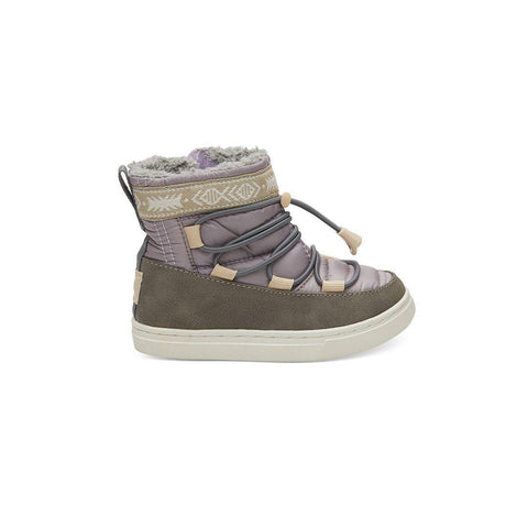 TOMS Alpine Shoes - Purple-Boots- Natural Baby Shower