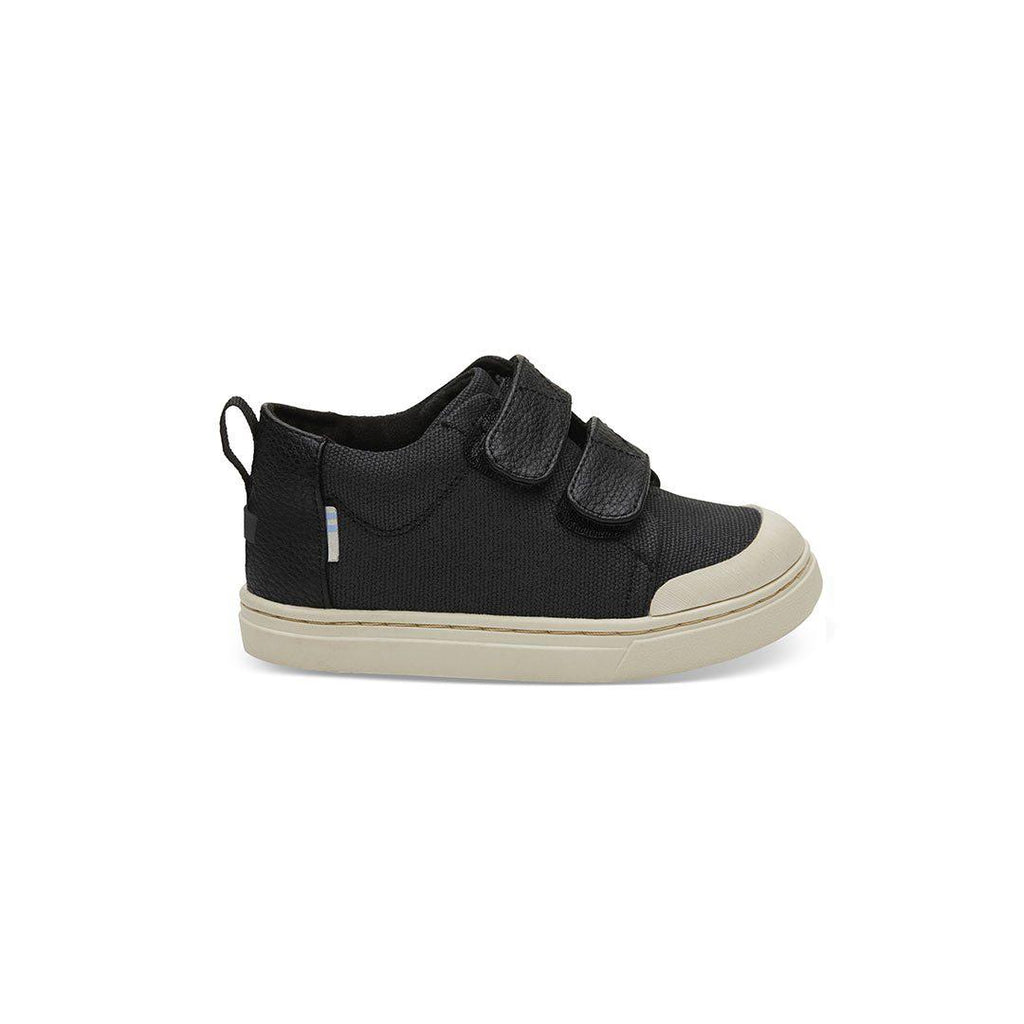 9f25df00a6f TOMS Lenny Mid Shoes - Black-Shoes- Natural Baby Shower
