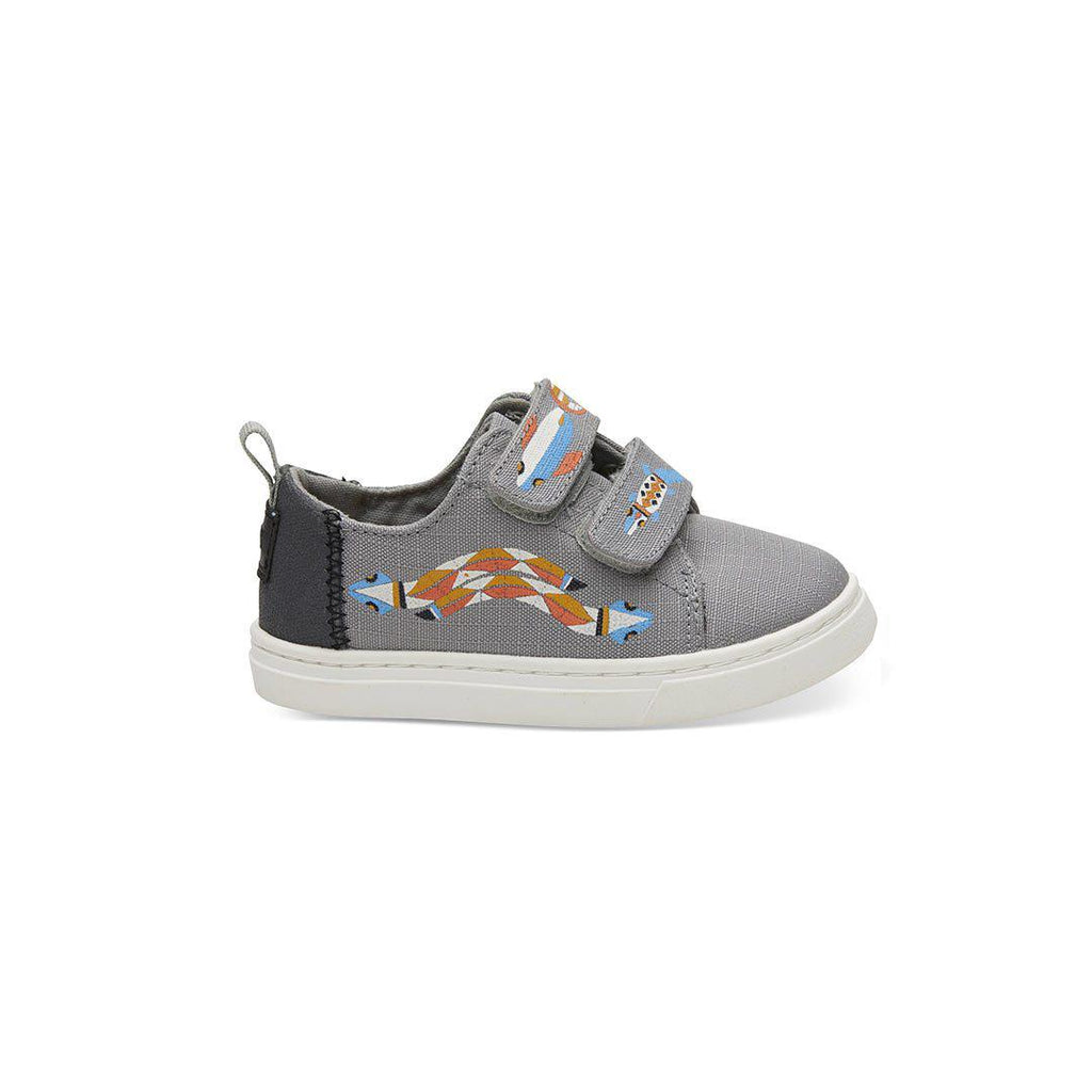 TOMS Lenny Shoes - Grey-Shoes- Natural Baby Shower