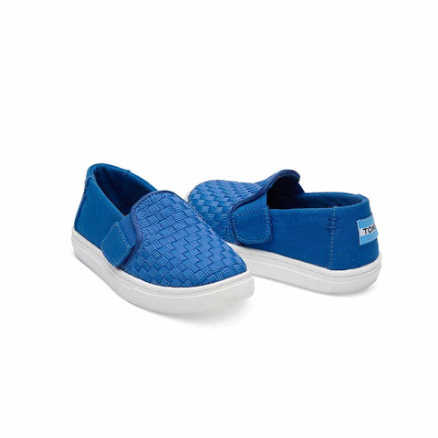 TOMS Luca Shoes - Blue-Shoes- Natural Baby Shower