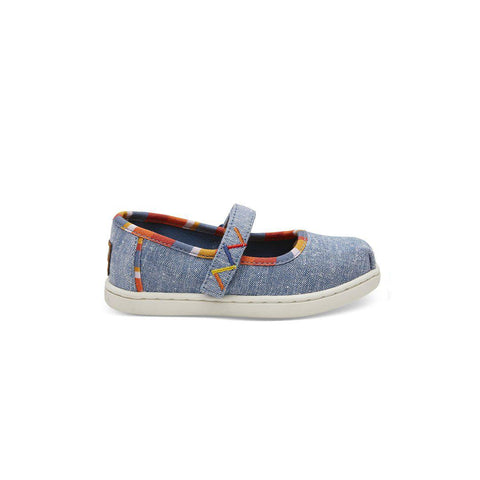 028f075b971 TOMS Mary Jane - Blue-Shoes- Natural Baby Shower ...
