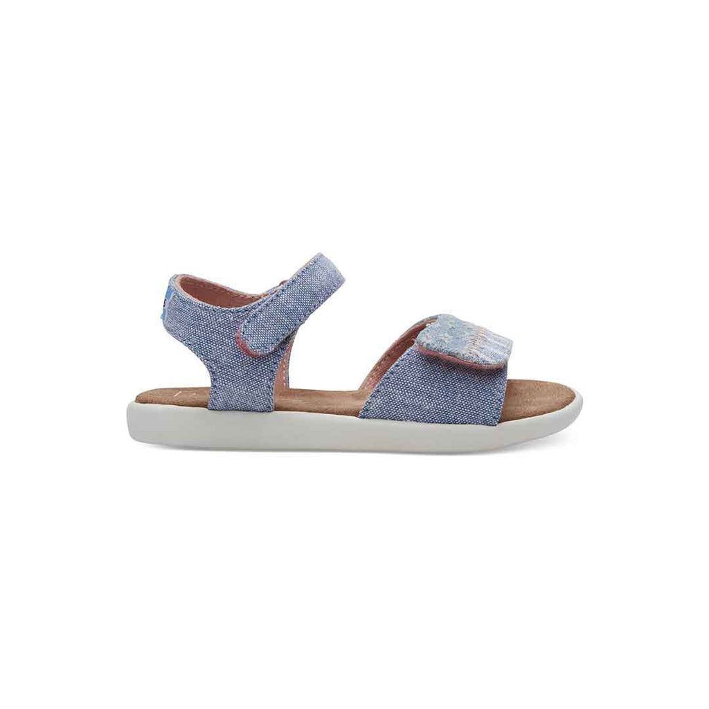 TOMS Strappy Sandals - Blue-Sandals- Natural Baby Shower