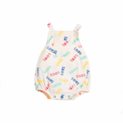 The Bonnie Mob Bahama Bubble Romper - Love-Rompers- Natural Baby Shower