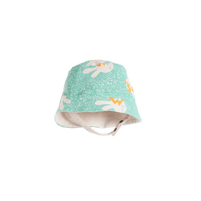 The Bonnie Mob Bowen Sunhat - Aqua Bunny-Hats- Natural Baby Shower