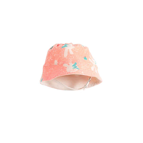 The Bonnie Mob Bowen Sunhat - Neon Bunny-Hats- Natural Baby Shower