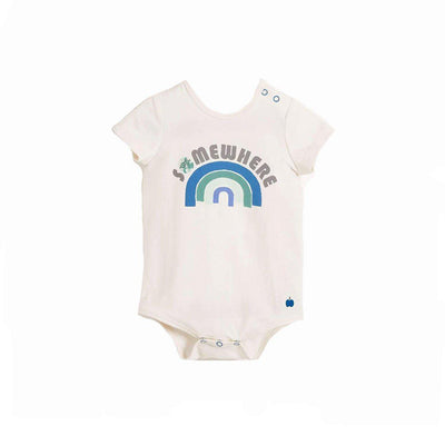 The Bonnie Mob Cabo Bodysuit - Blue Rainbow-Bodysuits- Natural Baby Shower