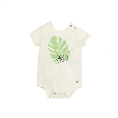 The Bonnie Mob Cabo Bodysuit - Leaf-Bodysuits- Natural Baby Shower