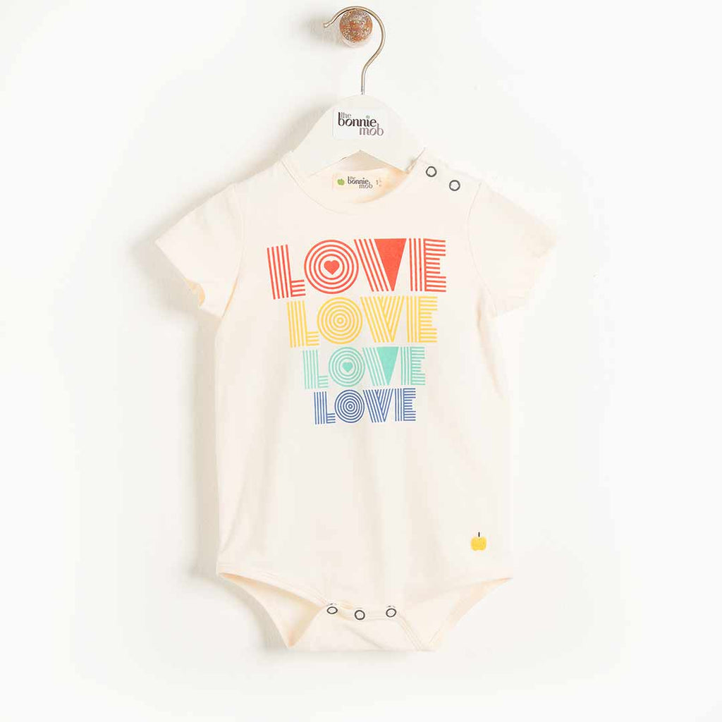 The Bonnie Mob Cabo Bodysuit - Love-Bodysuits- Natural Baby Shower