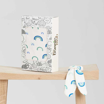 The Bonnie Mob Cannes Gift Set - Blue Rainbow-Gift Sets-One Size- Natural Baby Shower