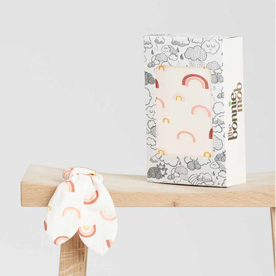 The Bonnie Mob Cannes Gift Set - Peach Rainbow-Gift Sets-One Size- Natural Baby Shower
