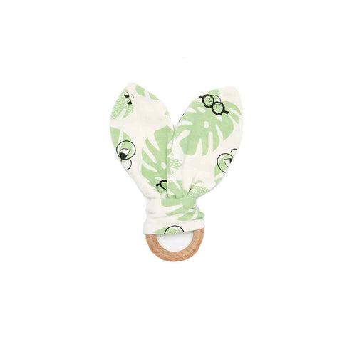 The Bonnie Mob Copacabana Teething Ring - Leaf-Teethers- Natural Baby Shower