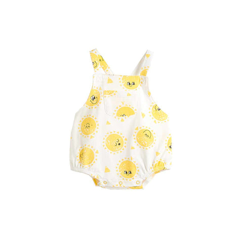 The Bonnie Mob Dali Bubble Romper - Sunshine-Rompers- Natural Baby Shower