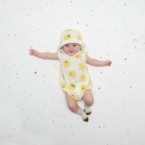 The Bonnie Mob Dawe Romper - Sunshine-Rompers- Natural Baby Shower