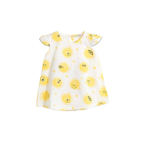 The Bonnie Mob Delaunay Dress - Sunshine-Dresses- Natural Baby Shower