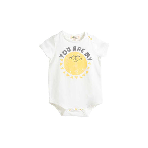 The Bonnie Mob Deller Bodysuit - You Are My-Bodysuits- Natural Baby Shower