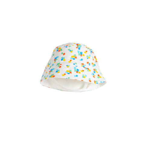 The Bonnie Mob Dixon Sunhat - Multicolour-Hats- Natural Baby Shower