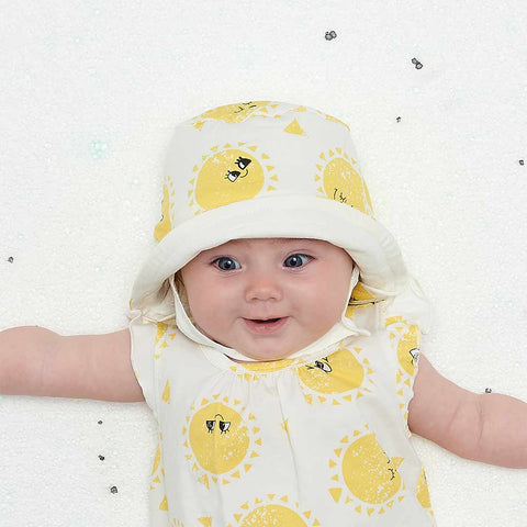 The Bonnie Mob Dixon Sunhat - Sunshine-Hats- Natural Baby Shower