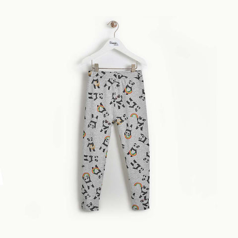 The Bonnie Mob Promise Leggings - Grey-Leggings- Natural Baby Shower