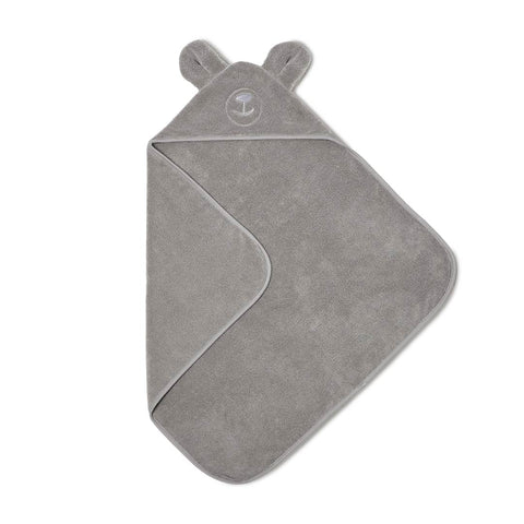 The Little Green Sheep Organic Baby Hooded Towel - Bear