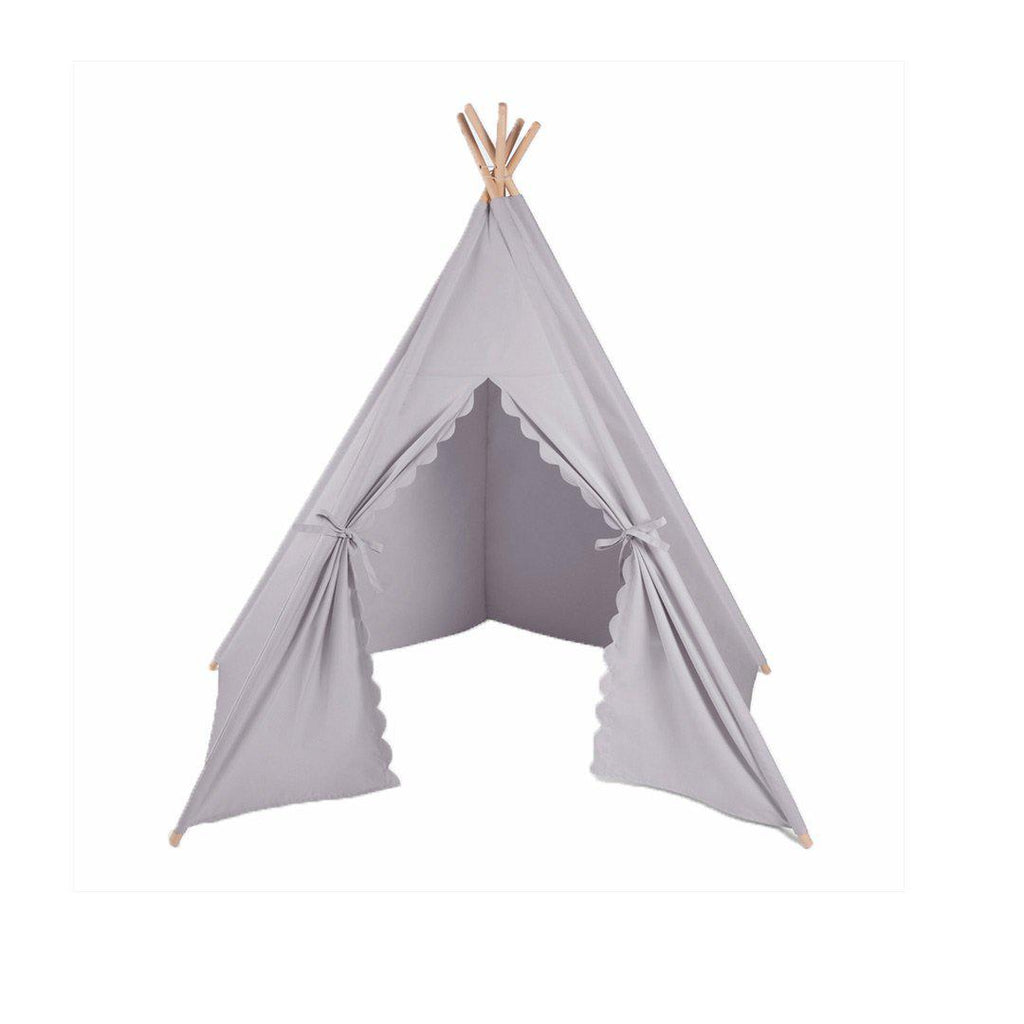 The Little Green Sheep Teepee - Grey-Play Sets- Natural Baby Shower