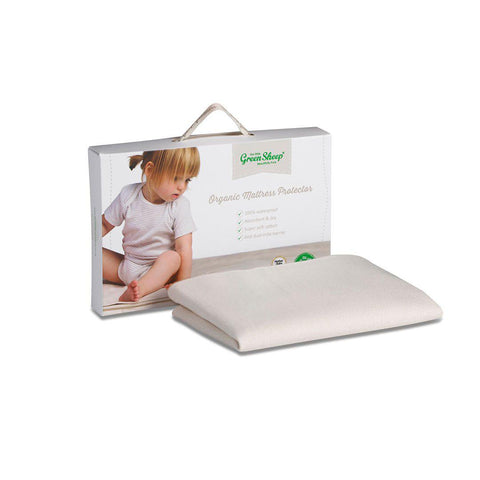 The Little Green Sheep Waterproof SnuzPod 3 Mattress Protector-Mattress Protectors- Natural Baby Shower
