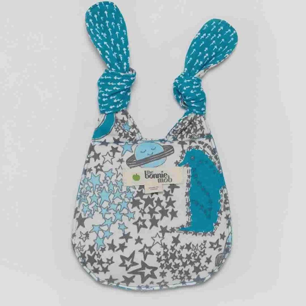 The Bonnie Mob - Beanz Bunny Toy - Blues Night Sky Back
