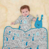The Bonnie Mob - Blaze Reversible Blanket - Blues Night Sky Lifestyle