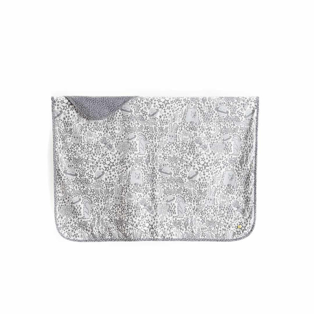 The Bonnie Mob Blaze Reversible Blanket Greys Night Sky