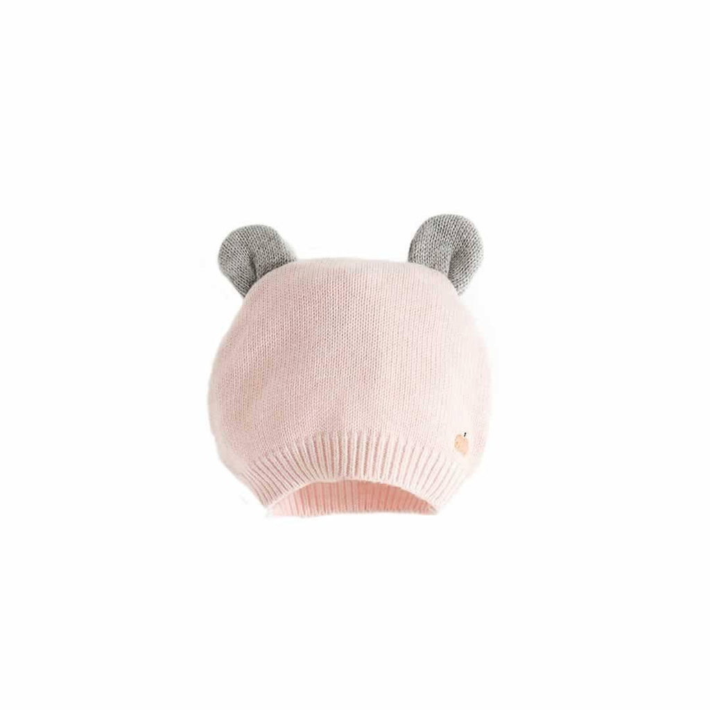The Bonnie Mob Elky Hat with Ears - Pale Pinks