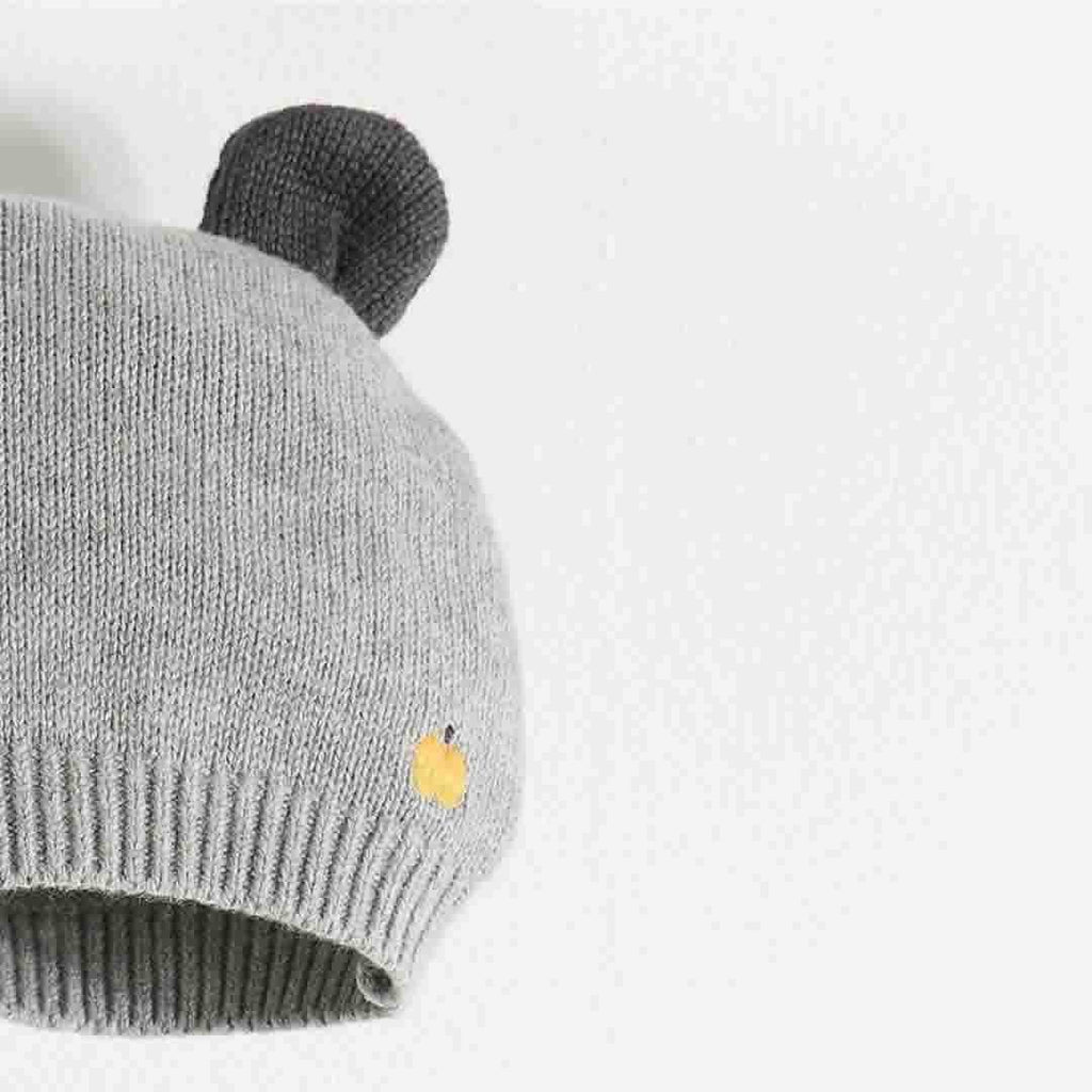 The Bonnie Mob - Elky Hat with Ears in Grey