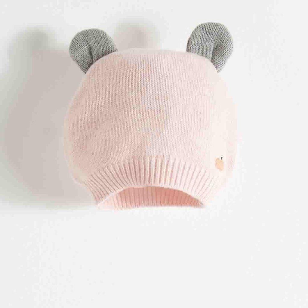The Bonnie Mob - Elky Hat with Ears in Pale Pinks