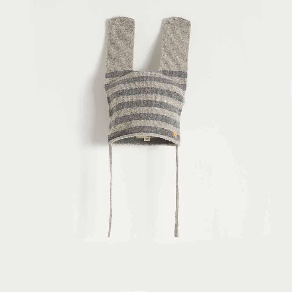 The Bonnie Mob - Thumper Rabbit Ears Hat in Greys