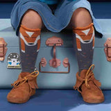 The Bonnie Mob - Willow Knee Length Fox Socks - Ginger Lifestyle