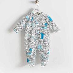 The Bonnie Mob Borealis Sleepsuit Blues Night Sky