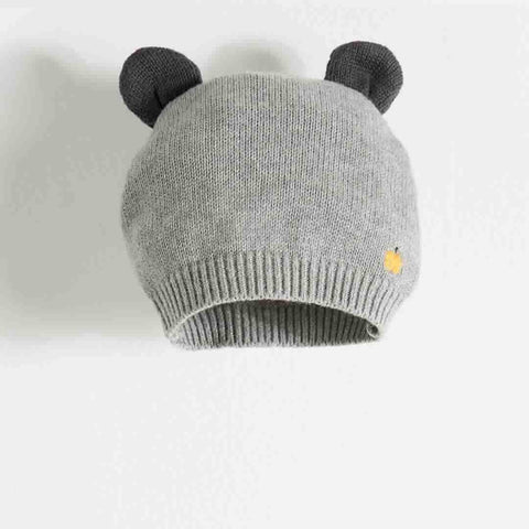 The Bonnie Mob Elky Hat with Ears in Grey
