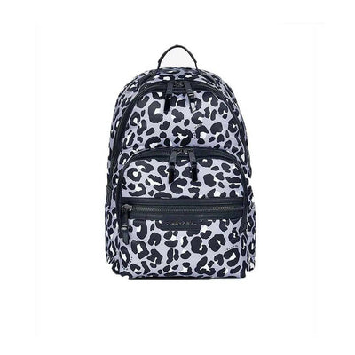 Tiba + Marl Elwood Backpack - Mono Leopard-Changing Bags- Natural Baby Shower