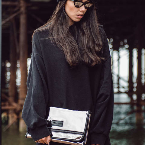 Tiba + Marl Etta Changing Clutch - Mirrored 1