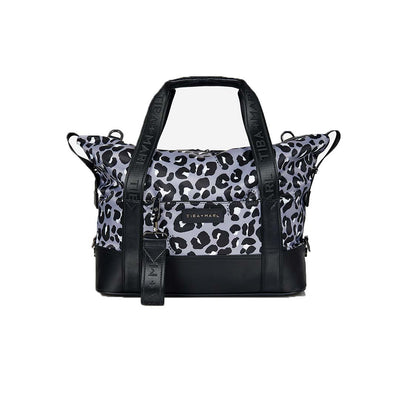 Tiba + Marl Felix Holdall - Mono Leopard-Changing Bags- Natural Baby Shower
