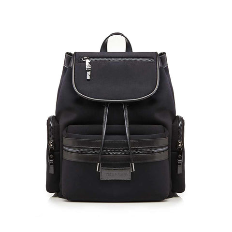 Tiba + Marl Kaspar Backpack - Black Scuba