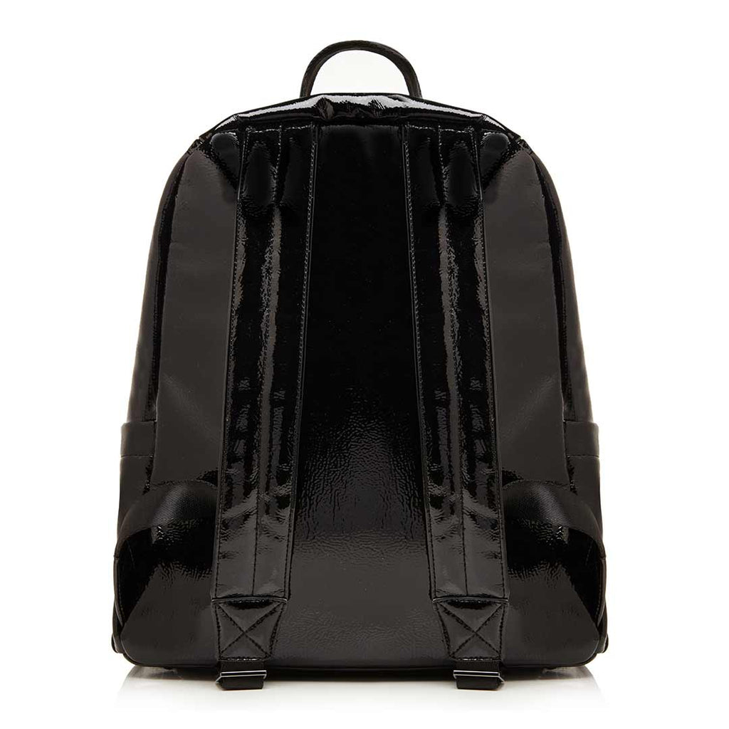 Tiba + Marl Miller Backpack - Black Patent Back