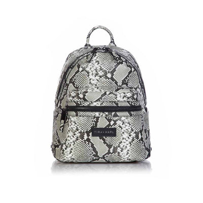 Tiba + Marl Miller Backpack - Snake Print-Changing Bags- Natural Baby Shower