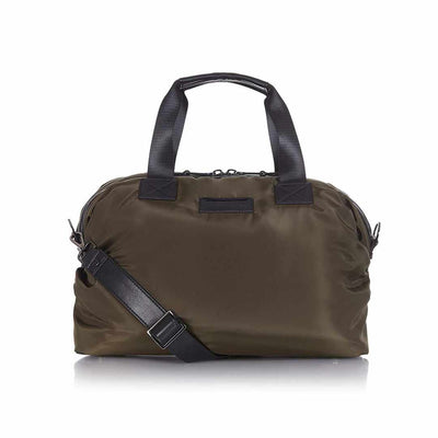 Tiba + Marl Raf Holdal - Khaki Nylon-Changing Bags- Natural Baby Shower