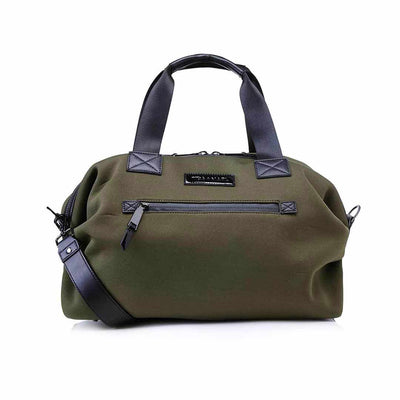 Tiba + Marl Raf Holdal - Khaki Scuba-Changing Bags- Natural Baby Shower