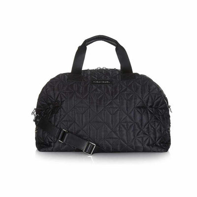 Tiba + Marl Raf Weekender - Black & Gun-Changing Bags- Natural Baby Shower